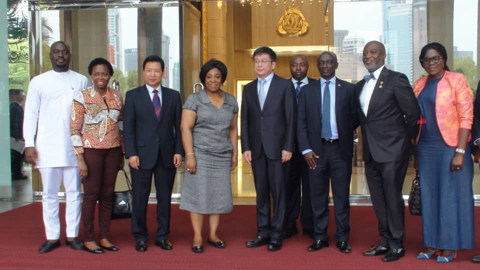 The Minister For Foreign Affairs And Regional Integration Hon. Shirley Ayorkor Botchwey Pays Official Visit To China