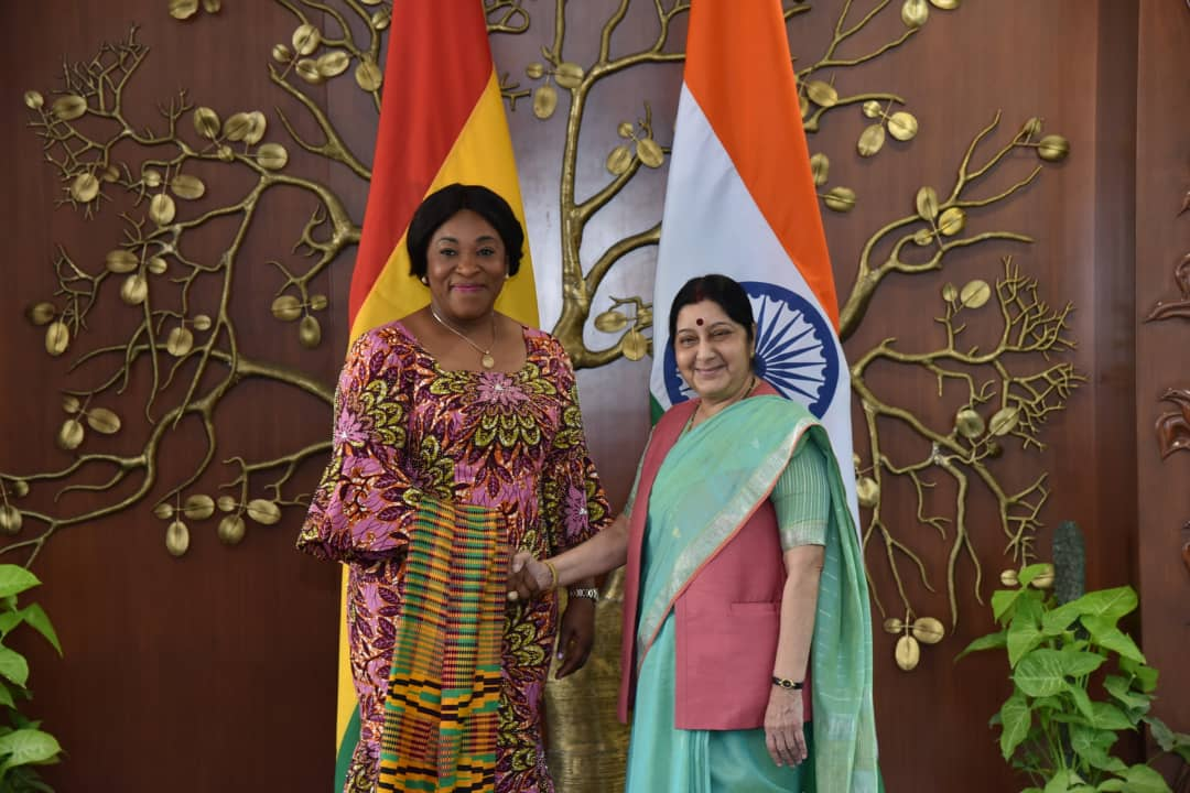 Minister For Foreign Affairs And Regional Integration Pays Official Visit To India